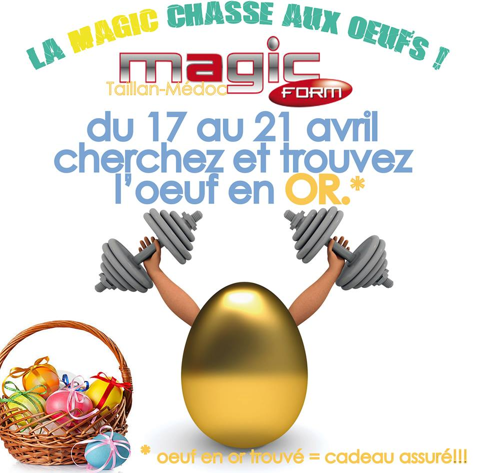 Magic chasse aux oeufs !